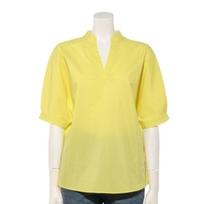 AMERICAN HOLIC (アメリカンホリック) レディース ・ドルマンスキッパーシャツ Yellow F