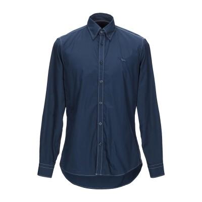 HARMONT&BLAINE シャツ ブルー S コットン 100% シャツ