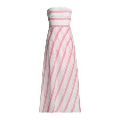 GÜL HÜRGEL 7分丈ワンピース・ドレス ピンク S コットン 100% 7分丈ワンピース・ドレス