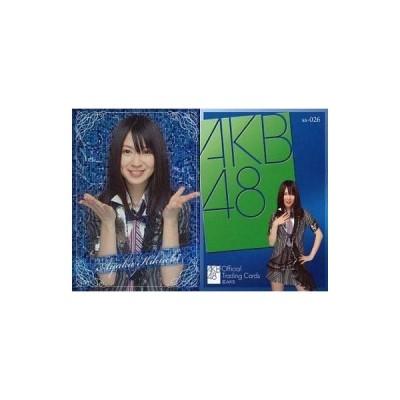 中古アイドル(AKB48・SKE48) ss-026   : 菊地あやか/レアカード/AKB48オフィシャルトレーディングカードvol.1