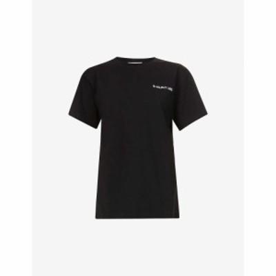 ヘルムート ラング HELMUT LANG レディース Tシャツ ロゴプリント コットンジャージー コットン ロゴ トップス Logo-Print Cotton-Jersey