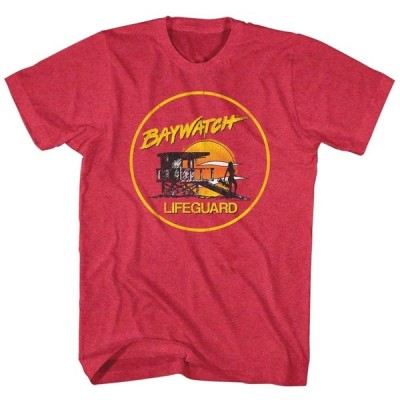 Tシャツ ベイウォッチ Baywatch TV Show Lifeguard Licensed Adult T Shirt