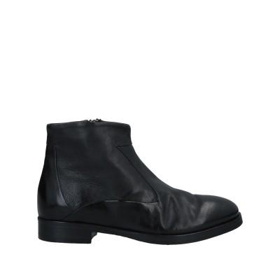 INTERNO 1 ショートブーツ ブラック 36 革 ショートブーツ