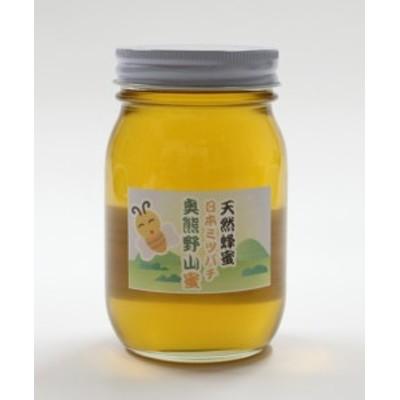 天然はちみつ 奥熊野山蜜 600g 日本ミツバチ天然蜂蜜(ハチミツ)国産 日本産 彩り屋_