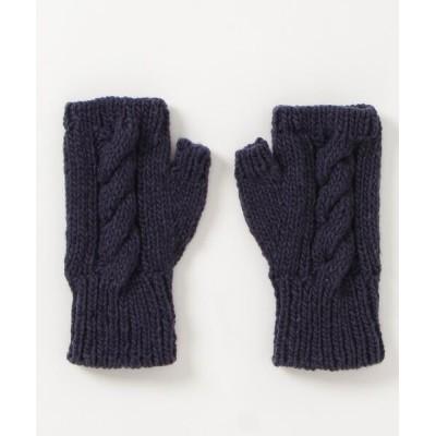 SHIPS for women / SHIPS any: ケーブル フィンガーレス グローブ WOMEN ファッション雑貨 > 手袋