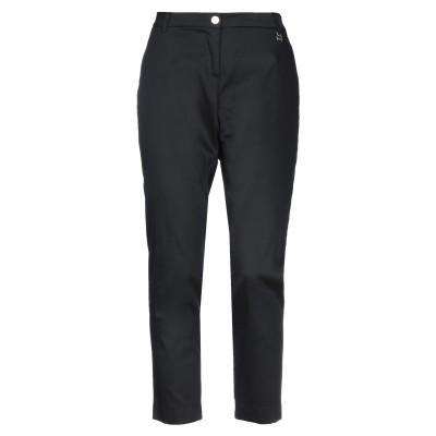LUCKYLU  Milano パンツ ブラック 46 97% コットン 3% ポリウレタン パンツ