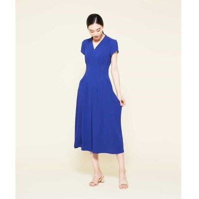 Sybilla / シビラ タッキングデザインドレス