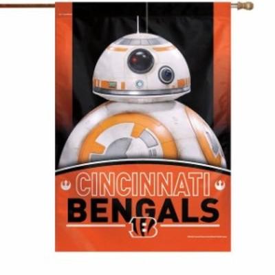 WinCraft ウィンクラフト スポーツ用品  WinCraft Cincinnati Bengals 28 x 40 Star Wars Single-Sided House Banner