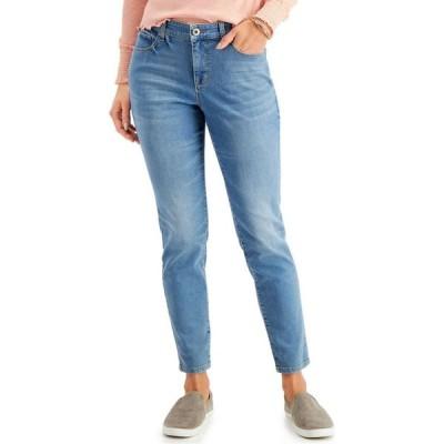 スタイル&コー Style & Co レディース ジーンズ・デニム ボトムス・パンツ Curvy-Fit Tummy-Control Skinny Jeans Droit