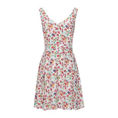 CLAUDIE PIERLOT ミニワンピース&ドレス ホワイト 34 レーヨン 100% ミニワンピース&ドレス