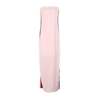 レリッシュ RELISH ロングワンピース&ドレス ピンク L ポリエステル 100% ロングワンピース&ドレス