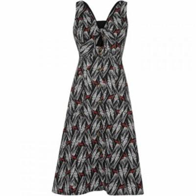 ホイッスルズ Whistles レディース ワンピース ワンピース・ドレス Carrie Print Tie Detail Dress Black