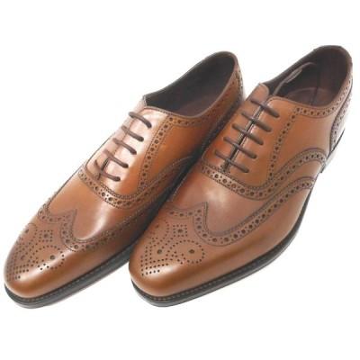 IDAe431273 ローク1880 メンズ 革靴 ビジネスシューズ  Buckingham ダークブラウン レザー #7 1/2(約26.0cm) 未使用 Loak1880 【質みなみ・到津店】