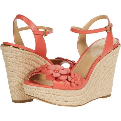 マイケル コース MICHAEL Michael Kors レディース サンダル・ミュール ウェッジソール シューズ・靴 Flora Wedge Pink Grapefruit