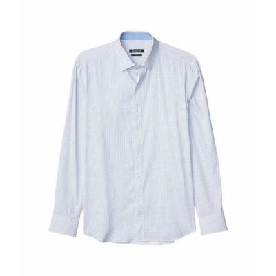 ブガッチ シャツ トップス メンズ Performance Arlo Shaped Fit Shirt Classic Blue