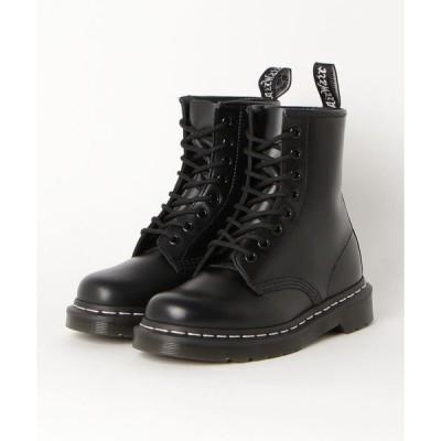 ブーツ Dr.Martens ドクターマーチン 1460Z DMS 8 EYE BOOT 24758001 BLACK(WHT ST)