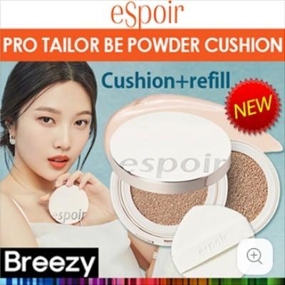 BREEZY [Espoir] PRO TAILOR BE POWDER CUSHION SPF42 PA++ 4 Colors / cushion + refill