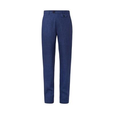 オリバー・スペンサー OLIVER SPENCER パンツ ブルー 30 リネン 100% パンツ