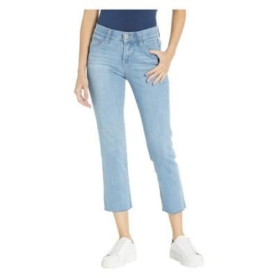 ジャグジーンズ レディース デニムパンツ ボトムス Ruby Straight Denim Crop Pants in Island Blue