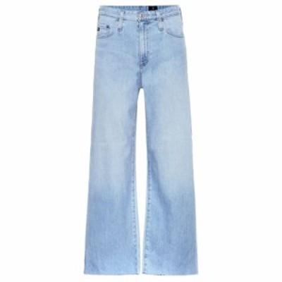 エージージーンズ AG Jeans レディース ジーンズ・デニム ボトムス・パンツ The Etta cropped wide-leg jeans Bloi