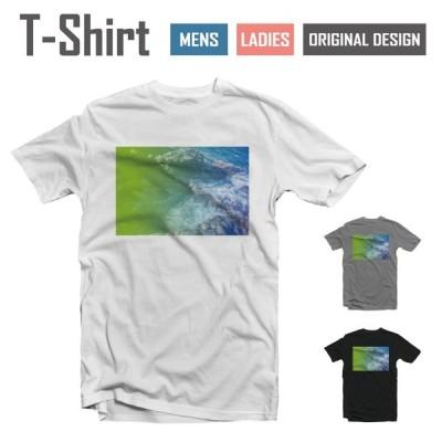 Tシャツ メンズ レディース 半袖 おしゃれ ブラック ホワイト グレー 綿100% コットン 春 夏 服 カジュアル カルフォルニア ビーチ ヤシの木