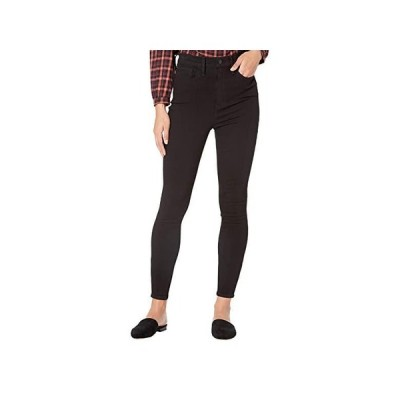 Madewell 11'' High-Rise Roadtripper Jeans: Ankle-Zip Edition レディース ジーンズ Black Frost