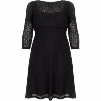スタジオ8 Studio 8 レディース ワンピース ワンピース・ドレス Plus Size Maya lace dress Black