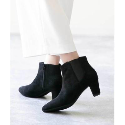 welleg from outletshoes / ポインテッドトゥ サイドゴア ブーツ WOMEN シューズ > ブーツ