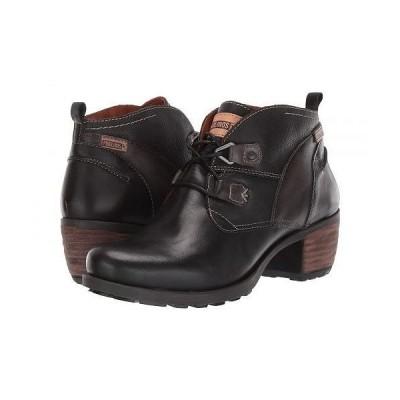 Pikolinos レディース 女性用 シューズ 靴 ブーツ アンクルブーツ ショート Le Mans 838-8996 - Black