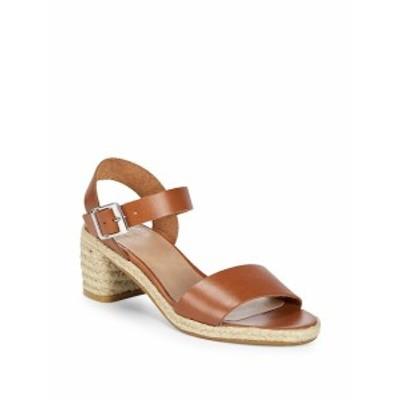 アレックス+アレックス レディース シューズ サンダル Jute Heel Leather Sandals