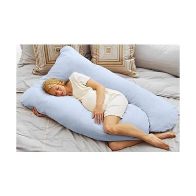 Today's Mom Cozy Comfort Pregnancy Pillow, Sky Blue by Todays Mom