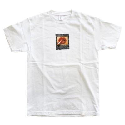 アカプルコゴールド Tシャツ ACAPULCO GOLD HOT LIPS TEE [WHITE] /[レターパックプラス可][SALE]