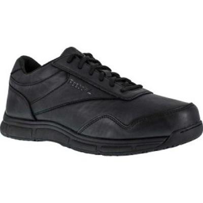 リーボック Reebok Work レディース ローファー・オックスフォード シューズ・靴 Jorie LT RB113 Slip Resistant Athletic Oxford Black