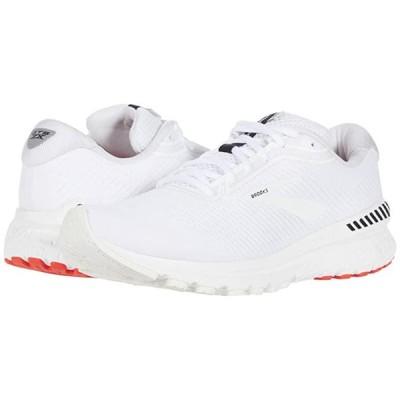 ブルックス Adrenaline GTS 20 メンズ スニーカー 靴 シューズ White/White/Black