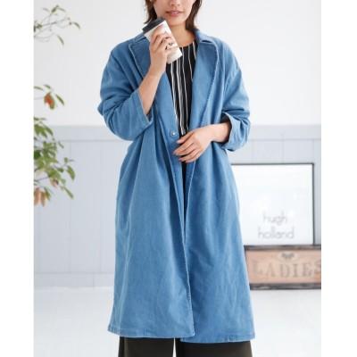 カットデニムチェスターコート (コート)(レディース)Coat