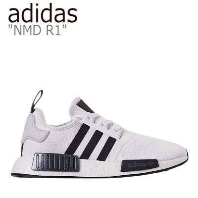アディダス スニーカー adidas メンズ NMD R1 エヌエムディー R1 WHITE BLACK ホワイト ブラック EG7186 シューズ