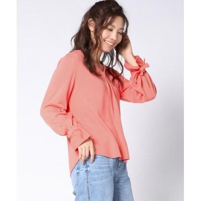 【ビッキー】 袖口ギャザープルオーバー レディース オレンジ M(2) VICKY