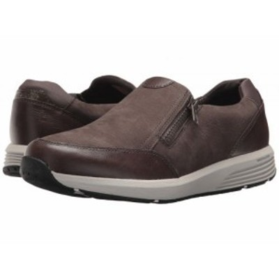 Rockport ロックポート レディース 女性用 シューズ 靴 スニーカー 運動靴 Trustride Side Zip Dark Grey【送料無料】
