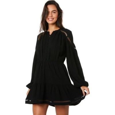 ミンクピンク Minkpink レディース パーティードレス ミニ丈 ワンピース・ドレス keely trim mini dress Black