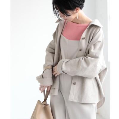 【ミューカ/MJUKA.】 ミリタリーシャツジャケット