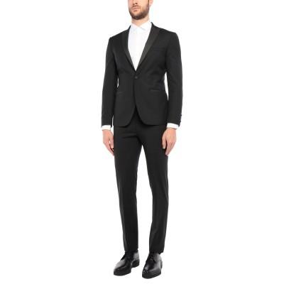 トネッロ TONELLO スーツ ブラック 50 バージンウール 90% / モヘヤ 10% スーツ