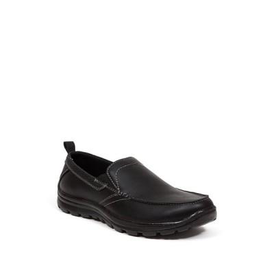 ディアースタッグス メンズ スリッポン・ローファー シューズ Everest2 Slip-On Loafer - Wide Width Available BLACK