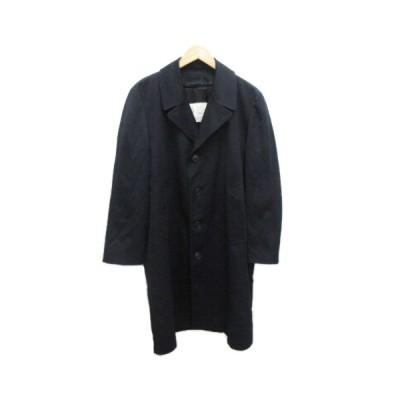 【中古】ロンドンフォグ LONDON FOG コート ロング オーバーサイズ 40 紺 ネイビー メンズ 【ベクトル 古着】