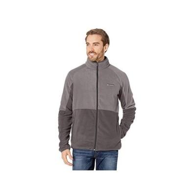 コロンビア Basin Trail Fleece Full Zip Jacket メンズ コート アウター Shark/City Grey