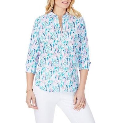 フォックスクラフト レディース シャツ トップス Carmen Parrot Print Shirt