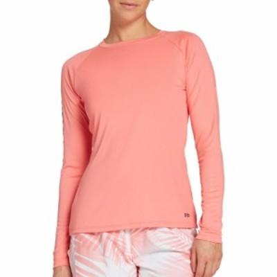 フィールドアンドストリーム Field and Stream レディース 長袖Tシャツ トップス Long Sleeve Tech Tee Shell Pink