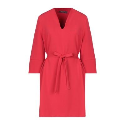 SANDRO FERRONE ミニワンピース&ドレス レッド S ポリエステル 94% / ポリウレタン 6% ミニワンピース&ドレス