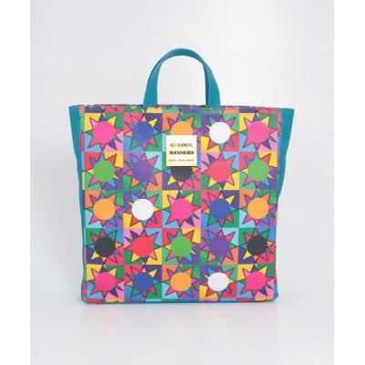 COLOUR MANNERS 【COLOUR MANNERS】Square Bag(SUN) Multicolour F