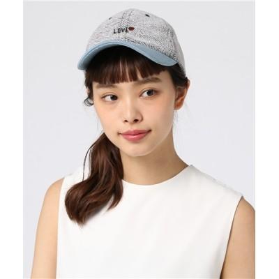 JUGLANS / スウェット ローキャップ WOMEN 帽子 > キャップ
