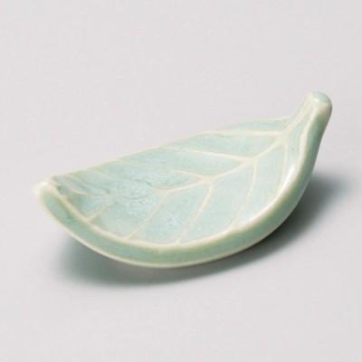 (業務用・箸置き)箸置木の葉グリン[46155-458](入数:1)